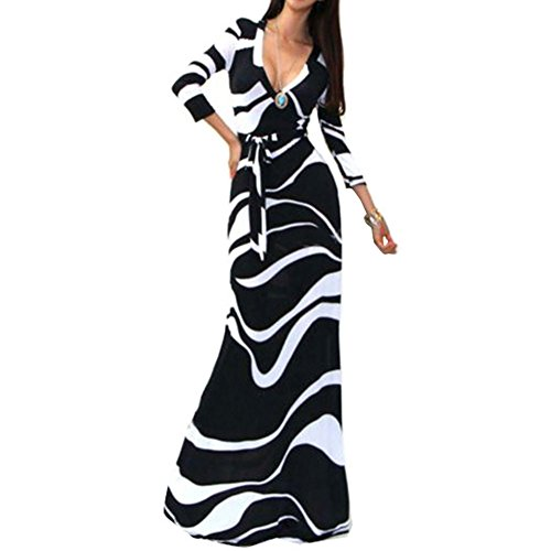 Buy belted cotton maxi dress - 3