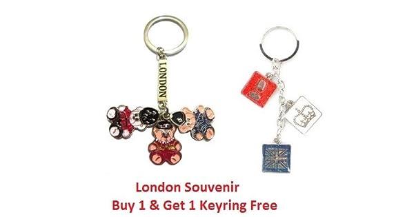 Amazon.com: I Love London: Oso de peluche, de la Reina ...