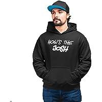 PrintBharat Unisex How's The Josh Cotton Printed Hoodies Movie Quotes, Slogan, Trending, Army, URI, |Sweatshirt | Pullover| Design Printed 100% Cotton Hoodie