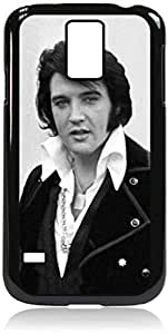 Zheng caseElvis Presley- Hard Black Plastic Snap - On Case with Soft Black Rubber LiningGalaxy s5 i9600 - Great Quality!