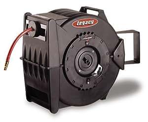 "Legacy L8306 Levelwind 3/8"" x 75' Retractable Air Hose Reel"