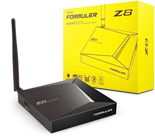 XstreamTec Formuler Z8 4K UHD Android IPTV Set Top TV Box Media Player 2GB RAM 16GB eMMC ROM with Dual Band 5G WiFi & Gigabit LAN