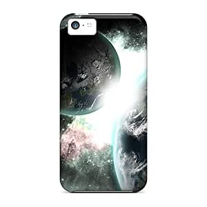 XiFu*MeiSlim Fit Protector Shock Absorbent Bumper Cases For Iphone 5cXiFu*Mei
