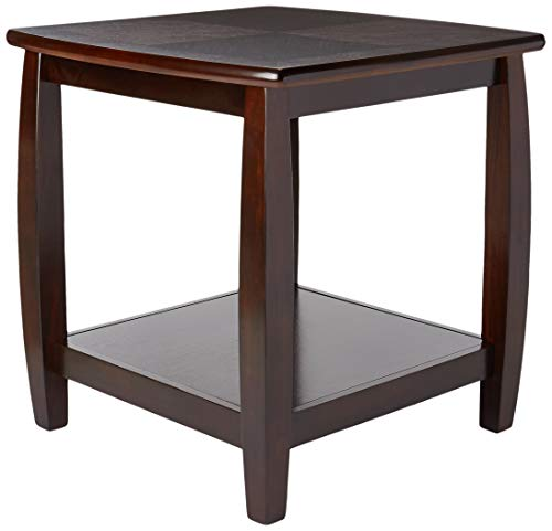 Marina End Table with Bottom Shelf ()