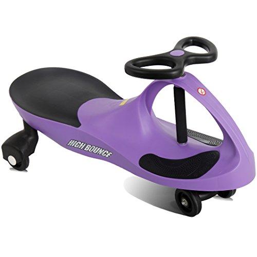 Grape Purple Rolling Coaster The Wiggling Wiggle Race Car Premium Scooter