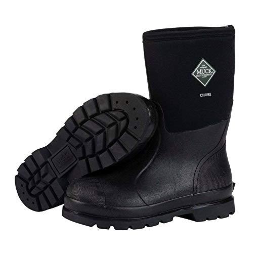 Muck Boot Chore Classic Mid Boot, Black, 7 D(M) US Mens...