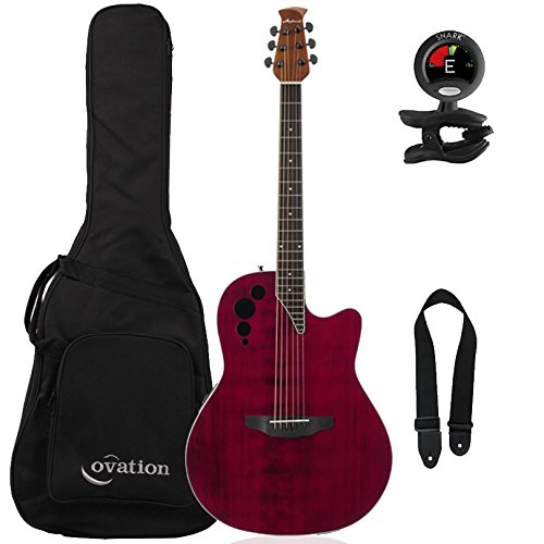 Ovation Applause Elite AE44II-RR Acoustic-Electric Guitar,