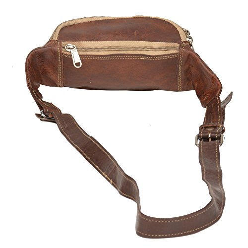 Fanny Pack Running Gürtel Waistpack Gürteltasche–Vinatage & Rustikal Look Tan Bum Tasche Geld Gürtel Läufer Tasche für Reisen Wandern von Desert Town