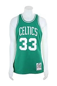 1d03d2834 ... NBA Mitchell Ness Boston Celtics 33 Larry Bird Green Authentic Throwback  Jersey ...