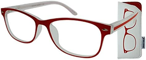 c0f8bf2b84 Amazon.com  I NEED YOU Fashion Reading Glasses Red For Men   Women - Full  Rim Eyewear Designer Eyeglasses   Plastic Eyeglass Frames - Power +2.0   Health ...