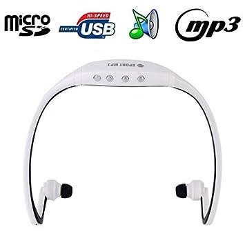 Casque sport sans fil lecteur MP3 audio Micro