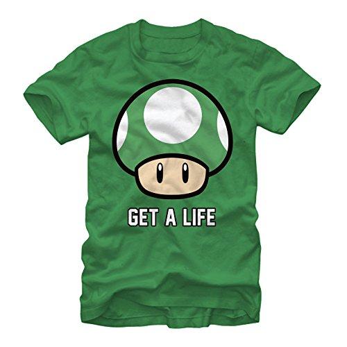 (Nintendo Men's Mario Get a Life Kelly)