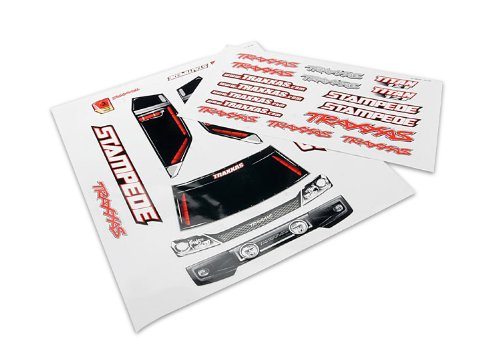 Traxxas 3616 Decal Sheets Stampede (Traxxas Decal Sheet)
