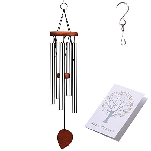 Grace Wind Chimes - Outdoor Wind Chime, Amazing Grace Wind Chimes for Garden, Yark,Patio and Home Décor with S Hook