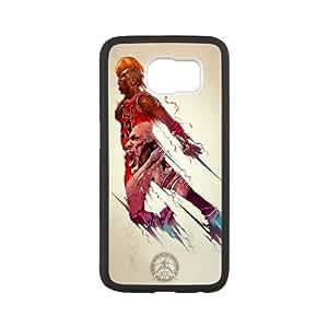 FLYBAI Michael Jordan Phone Case For Samsung Galaxy S6 G9200 [Pattern-6]
