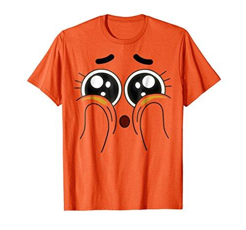 CN Gumball Darwin Face Squish Graphic ()