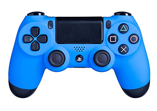 (Sony DualShock 4 Wireless Controller for Playstation 4, Wave Blue (Renewed))