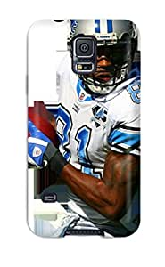New Tpu Hard Case Premium Galaxy S5 Skin Case Cover(calvin Johnson)
