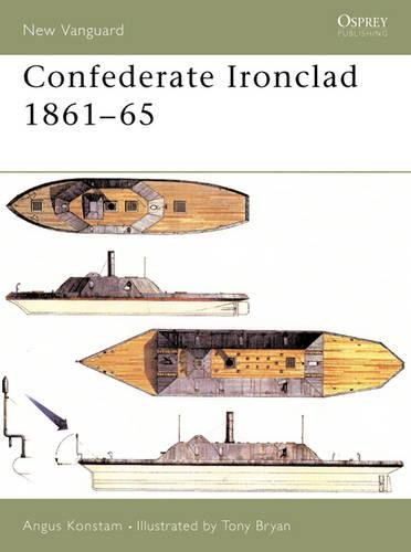 Confederate Ironclad 1861–65 (New Vanguard) [Angus Konstam] (Tapa Blanda)