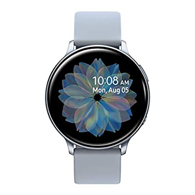 Samsung Galaxy Watch Active 2 (44mm, GPS, Bluetooth), Silver (US Version)