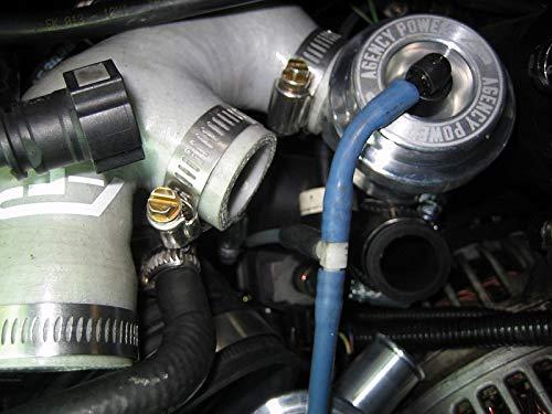 Agency Power AP-996TT-155BK Diverter Valve Pair Porsche 996TT   997.2TT  991TT   Cayenne Panamera TT-Black
