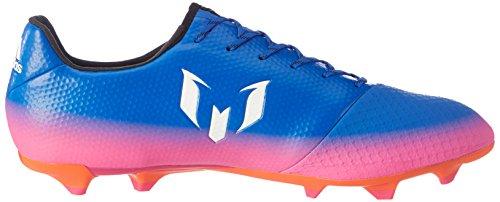 adidas Herren Messi 16.2 FG Fußballschuhe Blau (Blue/Footwear White/Solar Orange)