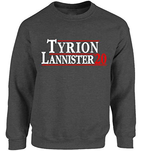 Tyrion 2020 Sweatshirt Adult Unisex Fun Parody Tyrion Crewneck Sweater Charcoal L