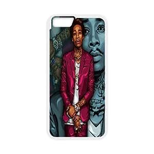 "LSQDIY(R) Wiz Khalifa iPhone6 4.7"" DIY Case, Brand New iPhone6 4.7"" Plastic Case Wiz Khalifa"