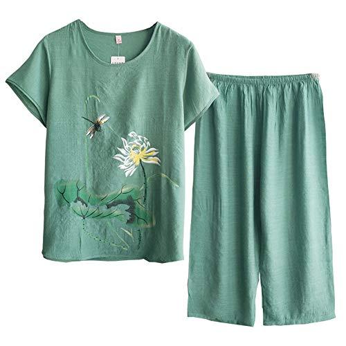 A Photo Di Moda Mmllse Pigiama Signore Sciolto Giacca Pantaloni Confortevole Giacca Color 2 Servizio Domicilio Pezzi Set ZSzUqw7zx