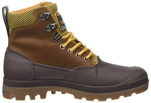 0 Amarillo Unisex Adulto Chocolate Altas Sporcuf Zapatillas U Gold Wp2 Palladium Amber EUwq8Hac