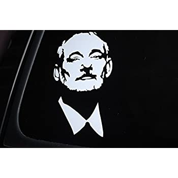 Amazoncom Bill Murray Face Sticker Vinyl Die Cut Decal Car - Custom die cut vinyl stickers meaning