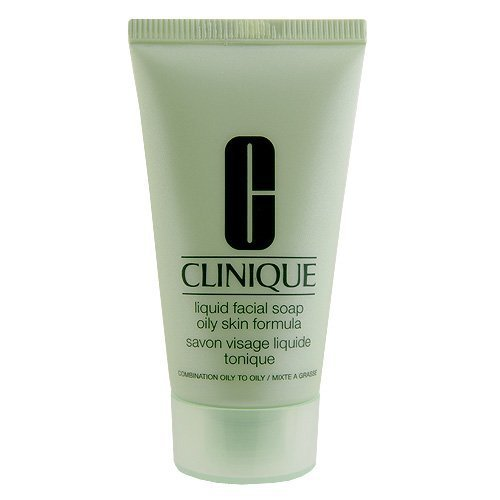 Clinique Liquid Facial Soap Oily Skin Formula (Combination Oily to Oily), 1oz, 30ml