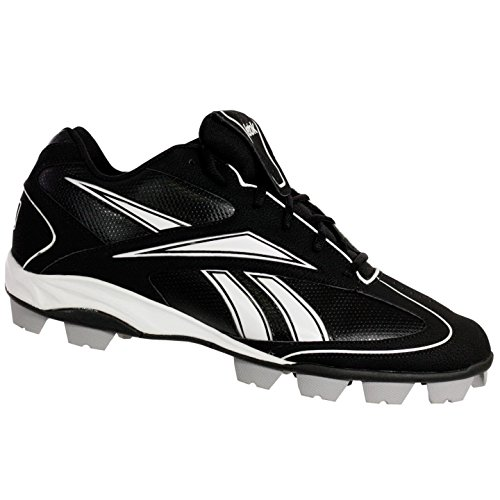 LOW Reebok VERO M Mens White Cleats 5 13 Baseball MRT Black III FL ZRZtwHq