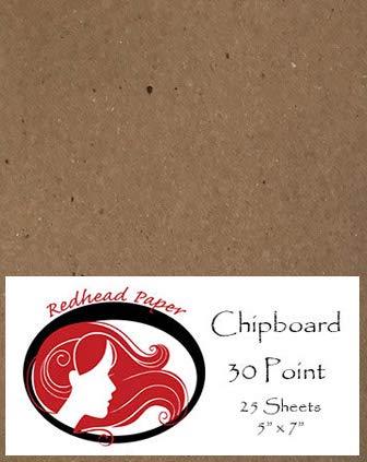 Amazon De 25 Blatt Spanplatte Medium Gewicht 30 Point 5 X 7 Inches