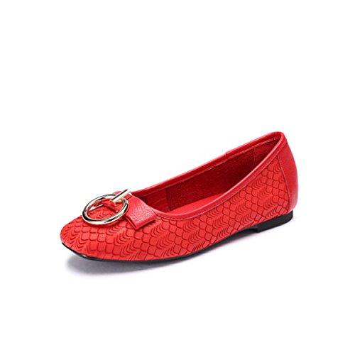 de Moda Planos Cómodos Mujeres ZFNYY Zapatos Individuales Casual Para Zapatos Zapatos Perezosos qCwCIXR