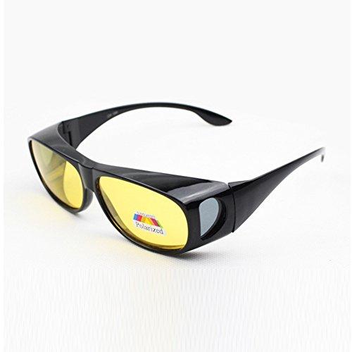 c84efcac2ec1 HD Lenses Polarized Sunglasses Night Vision Anti-sand Anti-glare Glasses UV  Protection Wear