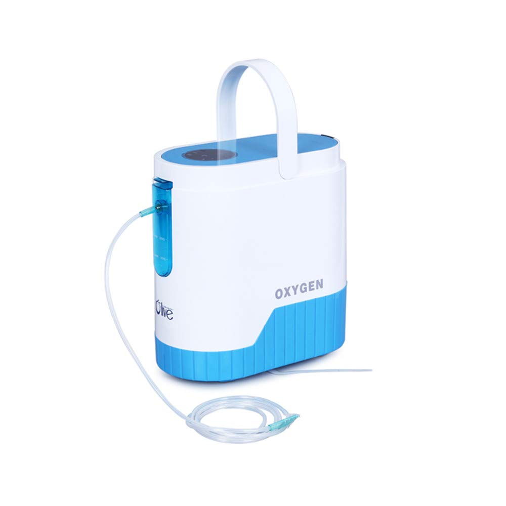 COXTOD Portable Oxygen Concentrator,1-5L/min Adjustable Portable Oxygen Machine for Home use, AC110V/220V Air Humidifiers by COXTOD