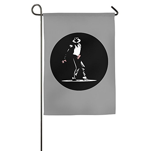 DEJML Fashion Michael Dangerous Garden Flag 1827inch ()