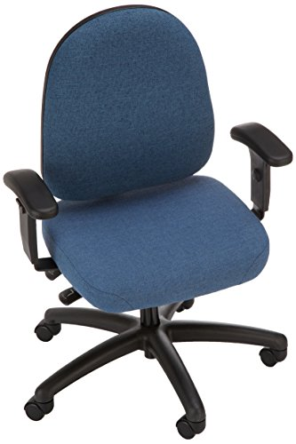 Bevco 6001A5-4550S/5 Advanced Ergonomic Deluxe Chair with Casters, Tilt Back Adjustment, 18