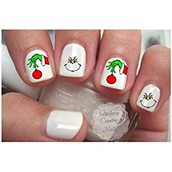 Amazon Com The Grinch Who Stole Christmas Nail Art