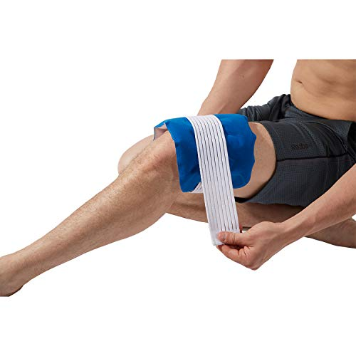 Thera-Med Universal Pad, Cold Pack, Ice Pack for Ankles, Wrists, Elbows & Knees, Dual-Sided for Multi-Temperature Therapy