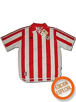 c23b038dc07fe adidas - Athletic Bilbao 1ª Camiseta EDU Alonso 23 99 00 Hombre Color  Rojo  Talla  XL  Amazon.es  Deportes y aire libre