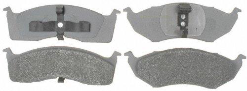 ACDelco 14D591M Advantage Semi-Metallic Front Disc Brake Pad Set