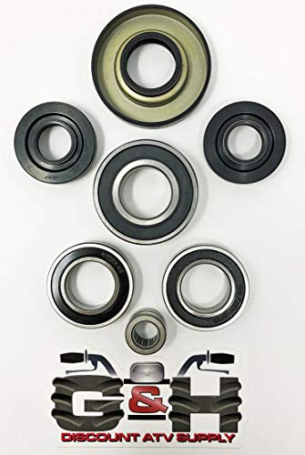 (Quality Front Differential Bearing & Seal Kit for 2002-2003 Honda 400 Foreman & 2001-2004 Honda 500 Foreman Rubicon)