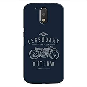 Cover It Up - Legendary Outlaw Moto G4/G4 Plus Hard Case