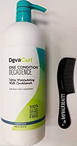 DevaCurl One Condition Decadence, 32 oz With FREE Shower Comb