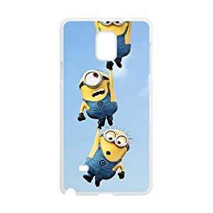 SANLSI Minions Case Cover For samsung galaxy Note4 Case