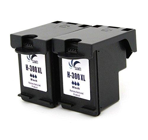 2 remanufacturados (Remanufacturado) Cartuchos de impresora HP 300 ...