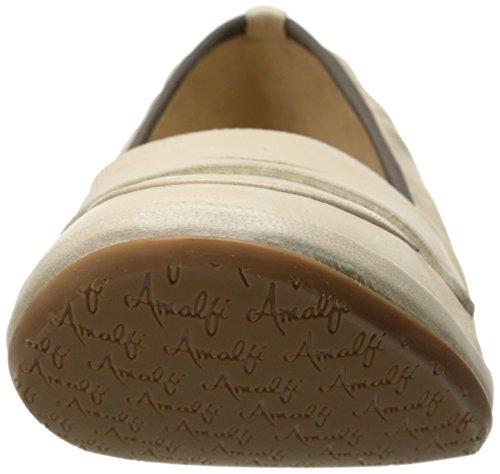Amalfi Van Rangoni Womens Fiametta Slip-on Loafer Cream