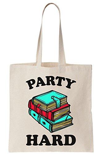 Bag Cover hard Books Canvas Party Tote 1wZCxq1X